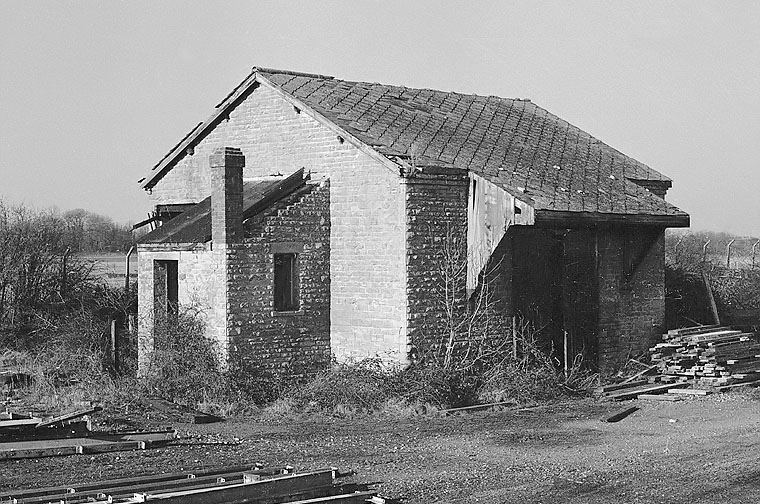 Brize Norton & Bampton goods shed in 1978