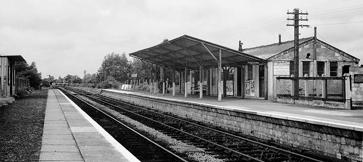 Carterton station in 1956