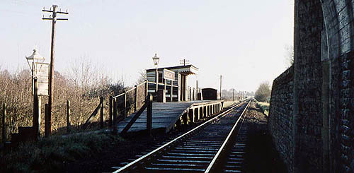 Cassington Halt in 1959