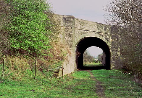 Cassington A40 bridge in 1989