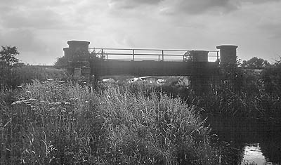 Cassington Canal bridge in 1971
