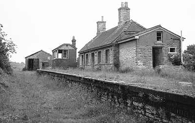Fairford station after closure