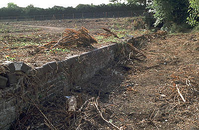 Lechlade station after the August 2003 clearance