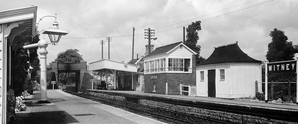 Witney Station in 1956