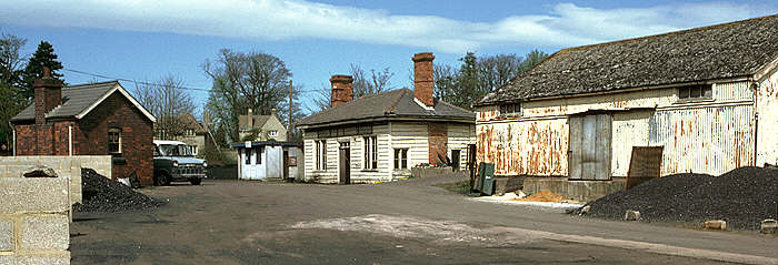 Witney Goods Station 1980