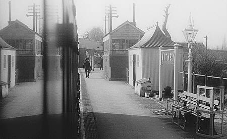 Witney Station on 10 March 1956